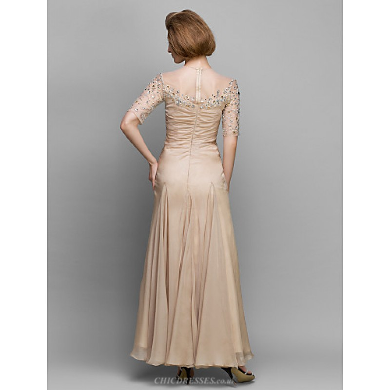 Champagne Cheap Mother of Bride Dresses