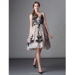 TS Couture Cocktail Party Dress - Ball Gown Scoop Knee-length Lace Special Occasion Dresses