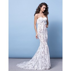 Formal Evening Dress Ivory Plus Sizes Petite Trumpet Mermaid Strapless Court Train Sequined