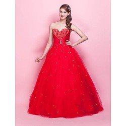Prom / Formal Evening / Quinceanera / Sweet 16 Dress - Ruby Plus Sizes / Petite Princess / Ball Gown Strapless / Sweetheart Floor-length