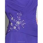 A-line Plus Sizes / Petite Mother of the Bride Dress - Regency Floor-length Sleeveless Chiffon Mother Of The Bride Dresses