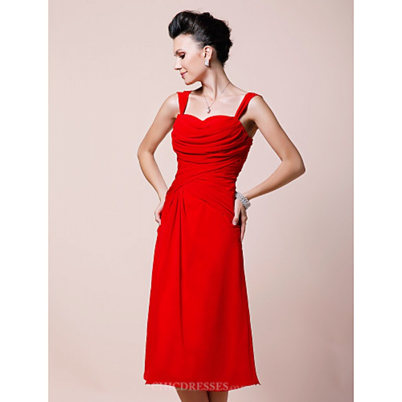 b51d0aa436 ... A-line Plus Sizes   Petite Mother of the Bride Dress - Ruby Tea- ...