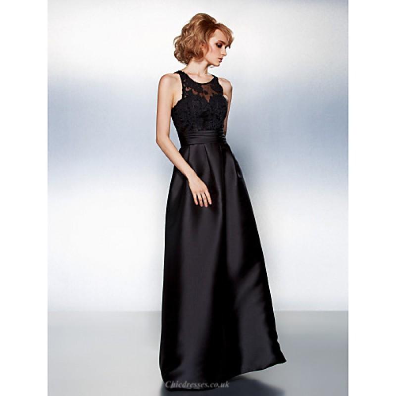 Chic Dresses Prom Formal Evening Dress Black Plus