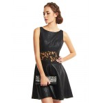 TS Couture Cocktail Party Dress - Black A-line Scoop Short/Mini Polyester Special Occasion Dresses