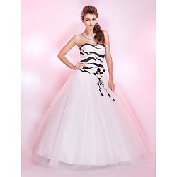 Prom / Formal Evening / Quinceanera / Sweet 16 Dress - Ivory Plus Sizes / Petite Princess / Ball Gown Strapless / Sweetheart Floor-length