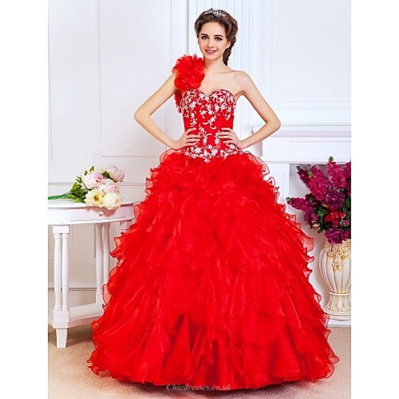 Prom Quinceanera Formal Evening Sweet 16 Dress Ruby Plus