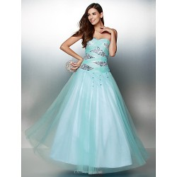 Formal Evening Dress - Multi-color A-line Sweetheart Ankle-length Tulle