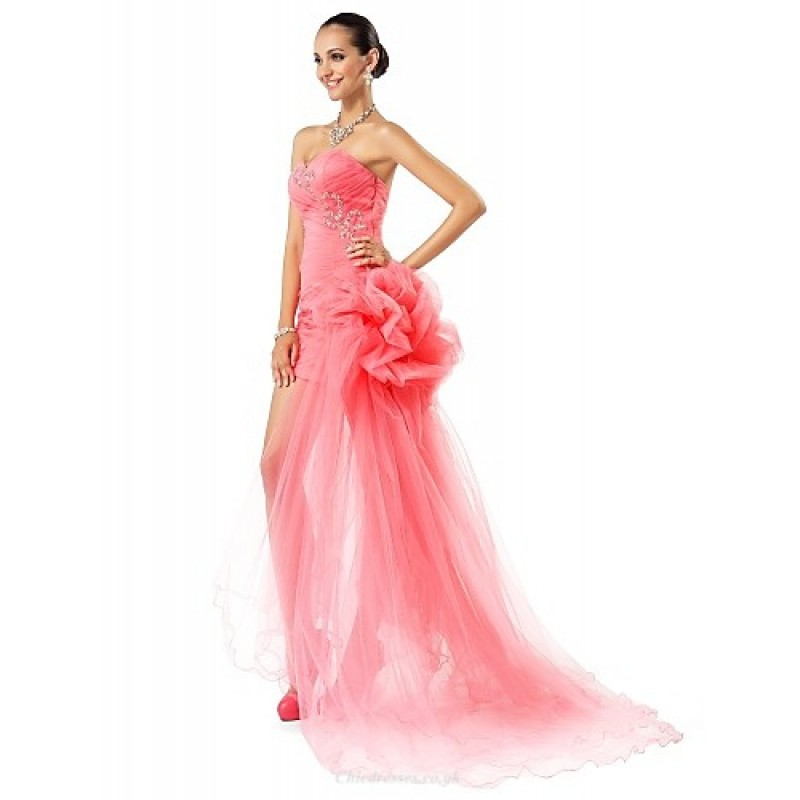 Formal Evening / Prom Dress - Watermelon Plus Sizes / Petite Sheath ...