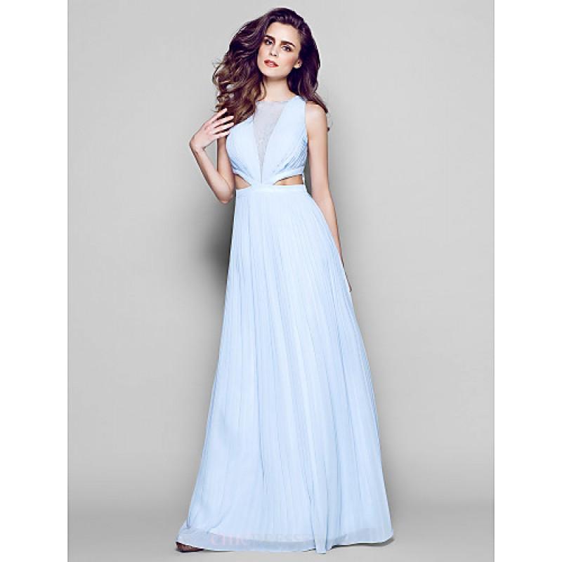 Formal Evening Dress Sky Blue Plus Sizes Petite Sheathcolumn