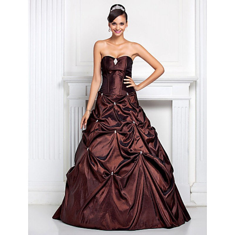 1d4cbd46a2685 Prom   Formal Evening   Quinceanera   Sweet 16 Dress - Chocolate Plus Sizes    Petite