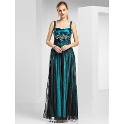 Military Ball Formal Evening Dress Jade Plus Sizes Petite A Line Princess Straps Sweetheart Floor Length Tulle Stretch Satin