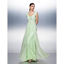 Dress Sage Plus Sizes Petite A Line Straps Floor Length Chiffon Tulle