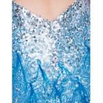 Dress - Multi-color Plus Sizes / Petite Sheath/Column Jewel Short/Mini Sequined Special Occasion Dresses