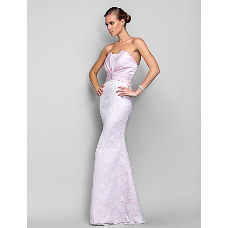 298a5a93bedde ... Formal Evening / Military Ball Dress - Blushing Pink Plus Sizes / Petite  Trumpet/Mermaid ...