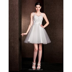 Short Mini Lace Bridesmaid Dress Ivory Plus Sizes Petite A Line Jewel