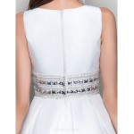 TS Couture Cocktail Party / Graduation Dress - Ivory Plus Sizes / Petite Ball Gown / A-line Jewel Short/Mini Taffeta Special Occasion Dresses