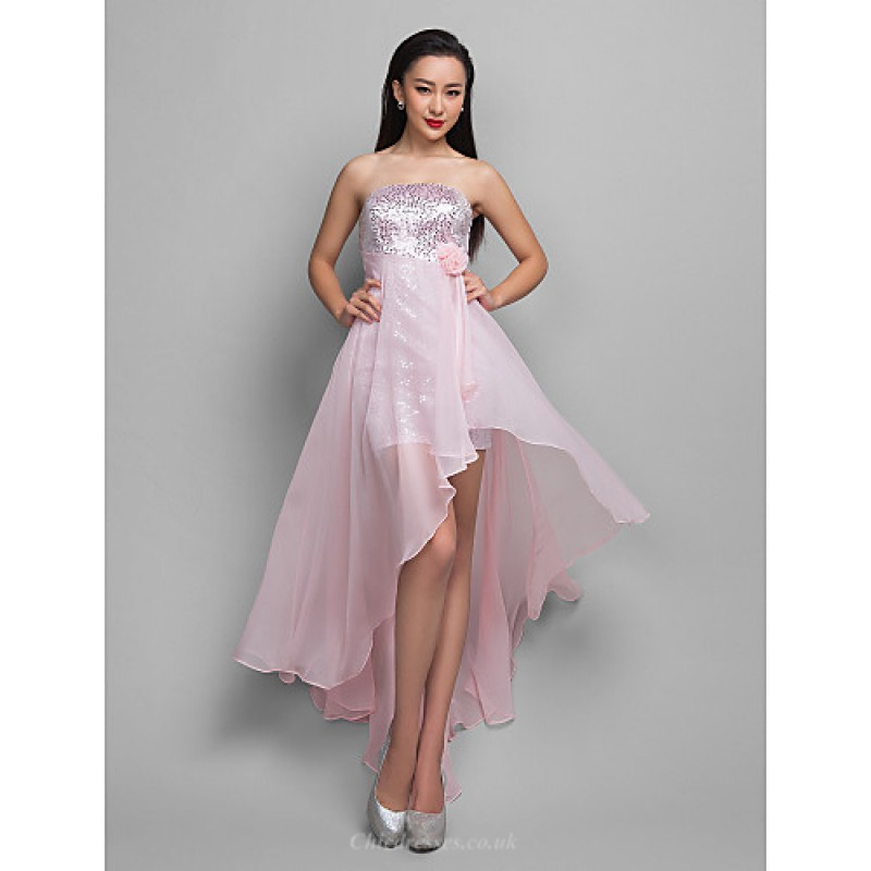3e2a145691a5 TS Couture Cocktail Party   Holiday Dress - Candy Pink Plus Sizes   Petite  A-