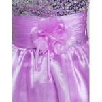 TS Couture Cocktail Party / Prom Dress - Lavender Plus Sizes / Petite A-line / Princess Spaghetti Straps Short/Mini Organza Special Occasion Dresses