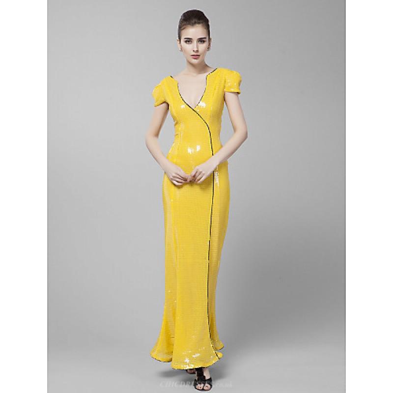 Formal Evening / Prom / Military Ball Dress - Daffodil / Ruby Plus ...