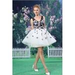 Cocktail Party Dress - Multi-color A-line V-neck Short/Mini Lace / Organza Special Occasion Dresses
