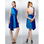 Mix&Match Convertible Dress Knee-length Knit A-line Cocktail Dress (2494965) Special Occasion Dresses