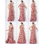 TS Couture Mix&Match Convertible Dress Floor-length Knit Sheath/Column Evening Dress (1912694) Special Occasion Dresses
