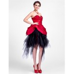 TS Couture Cocktail Party / Sweet 16 Dress - Ruby Plus Sizes / Petite Ball Gown / A-line Sweetheart / StraplessAsymmetrical / Special Occasion Dresses