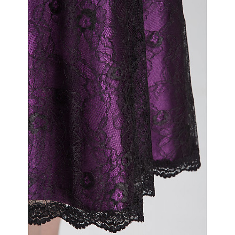 abda2fedd7e ... TS Couture Cocktail Party   Holiday   Dress - Grape Plus Sizes   Petite  A-