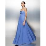 Dress Plus Sizes / Petite Sheath/Column Sweetheart Floor-length Chiffon Special Occasion Dresses