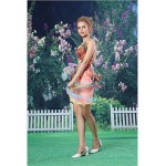Cocktail Party Dress - Blushing Pink Sheath/Column Strapless Short/Mini Organza / Satin Special Occasion Dresses