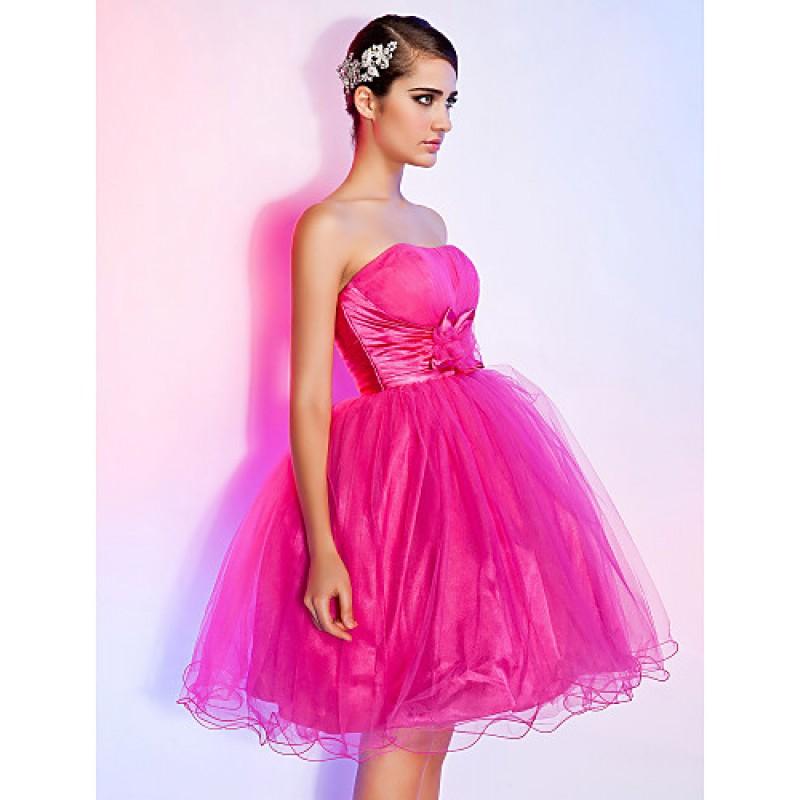 Chic Dresses Sweet 16 Dress Fuchsia Plus Sizes