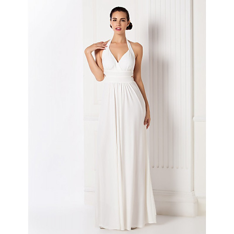Formal Evening / Prom / Military Ball Dress - White Plus Sizes ...