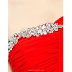 Formal Evening Dress - Ruby A-line One Shoulder Floor-length Nylon Taffeta Special Occasion Dresses