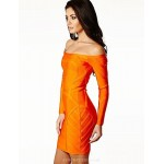 Cocktail Party Dress - Orange Petite Sheath/Column Bateau Short/Mini Spandex / Rayon / Nylon Taffeta Special Occasion Dresses