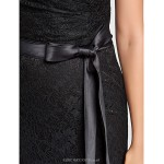 Trumpet/Mermaid V-neck Floor-length Lace Bridesmaid Dress (631232) Special Occasion Dresses