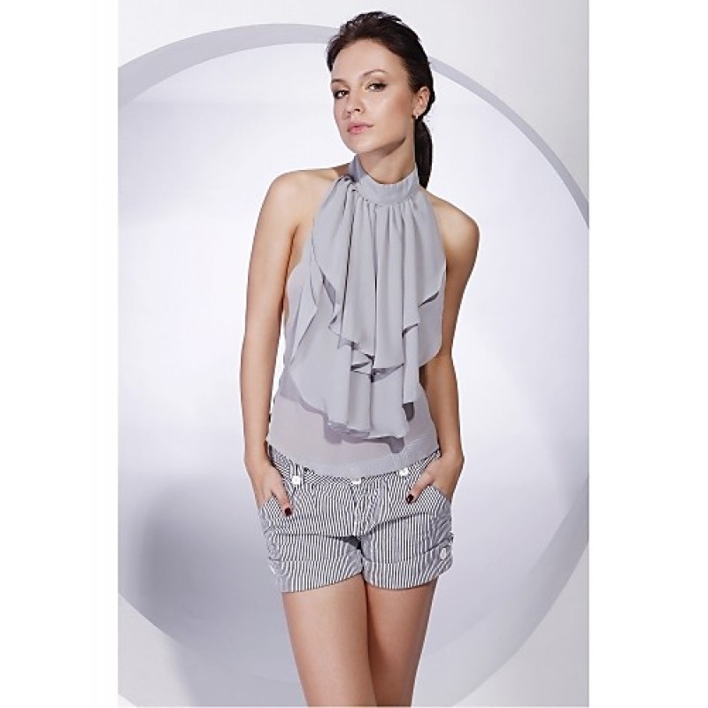 Party Evening Casual Chiffon Vests Sleeveless Wedding Wraps Cheap