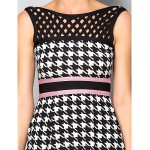 Dress - Multi-color Petite Sheath/Column Bateau Short/Mini Silk Special Occasion Dresses