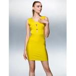 TS Couture Dress - Daffodil Petite Sheath/Column V-neck Short/Mini Silk Special Occasion Dresses