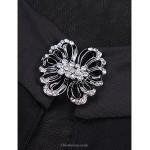 Cocktail Party Dress - Black Sheath/Column Jewel Short/Mini Knit Celebrity Dresses