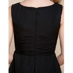 Cocktail Party / Homecoming / Holiday Dress - Black Hourglass / Pear / Misses / Petite / Apple / Inverted Triangle / RectangleA-line / Celebrity Dresses