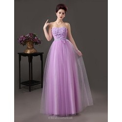 Formal Evening Dress As Picture A Line Sweetheart Floor Length Satin