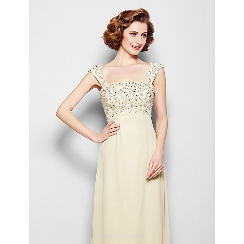 1e0530c98cbe ... A-line Plus Sizes / Petite Mother of the Bride Dress - Champagne Floor-  ...